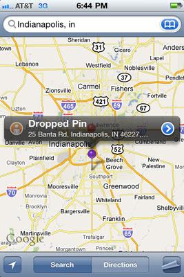 Cómo agregar marcadores a su iPhone Mapas