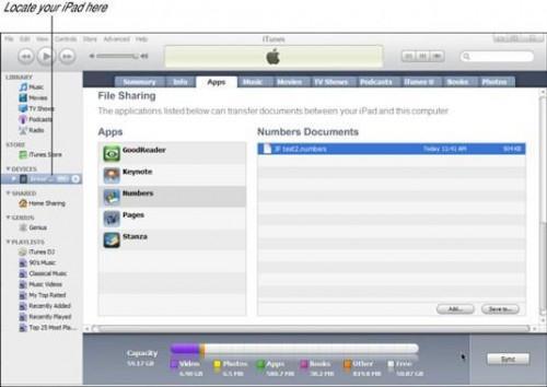 Cómo mover iWork archivos entre el iPad y el ordenador