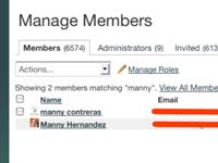 Cómo exportar datos miembro de tu red Ning