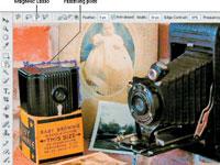 Selección de los bordes de la imagen digital