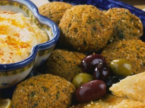 Falafel (Fried Garbanzo Nuggets)