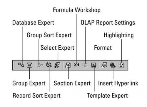 Crystal Reports 10 Cheat Sheet
