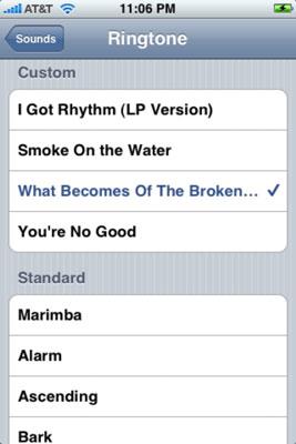 Cómo elegir un tono para tu iPhone