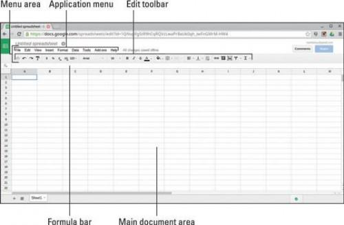 Chromebook: Encuesta de la Zona Menu Sheets