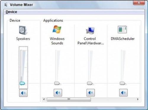 Cómo ajustar el volumen de sonido en Windows Vista