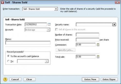 Cómo Comprar Cercano y vender caro con Quicken 2012