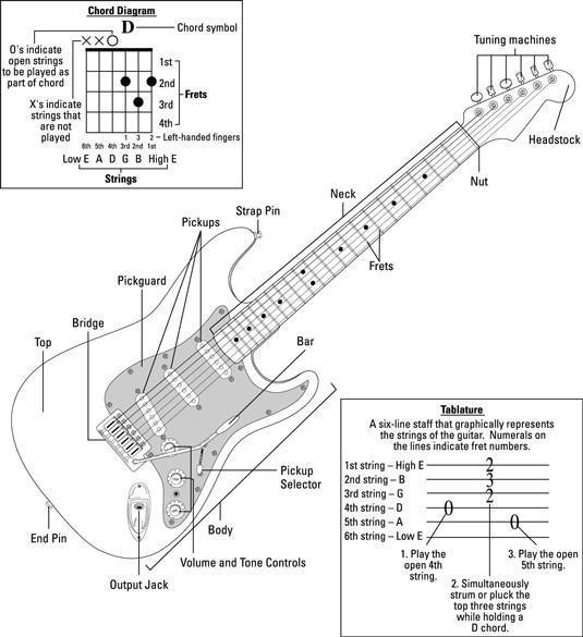 Anatomía de una guitarra eléctrica - Prucommercialre.com