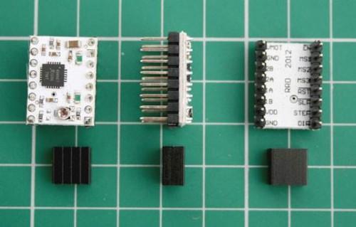 Cómo conectar el cableado del motor y Posición-Sensing a la Electrónica de la impresora RepRap 3D