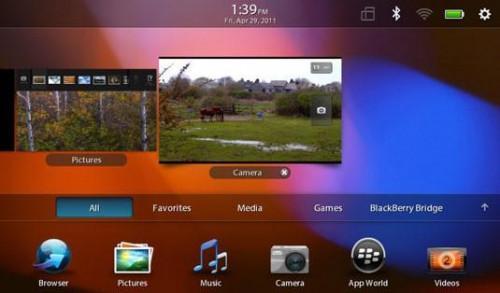 Cómo Tomar una captura de pantalla de su BlackBerry PlayBook