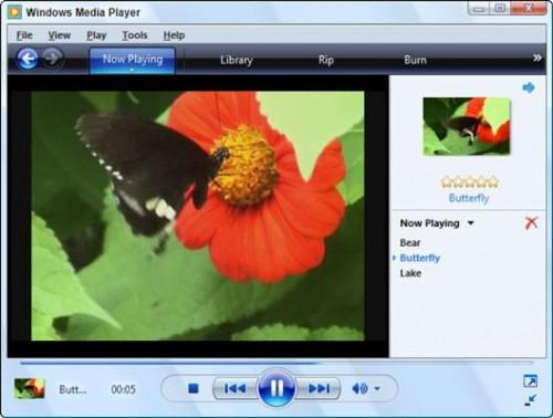 Para ver vídeo en Windows Media Player