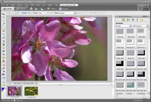 Uso de Adobe Photoshop Elements para trabajar con fotos digitales