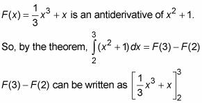 Cómo encontrar Zona con la versión de acceso directo del teorema fundamental del cálculo