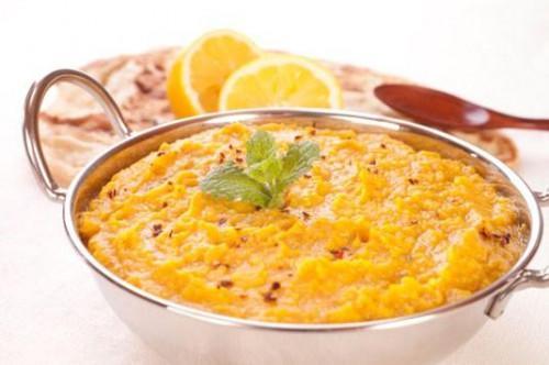 Receta para Spiced Lemony Lentejas