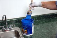 Cómo limpiar la pintura de látex de Pinceles