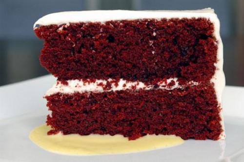 Cómo hacer torta de terciopelo rojo para las fiestas