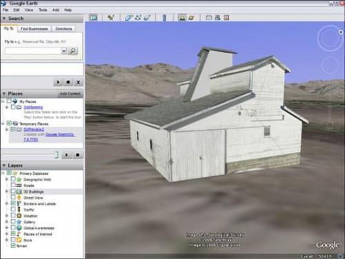 Cómo ver tu Google SketchUp modelo en Google Earth