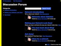 Cómo administrar un foro en su propia red social
