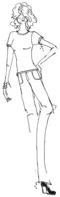 Cómo elegir una buena pose para sus dibujos de Moda