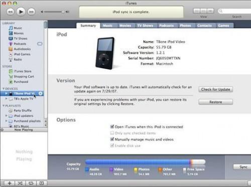 Cómo saber si su iPod o iPhone tiene el software más reciente
