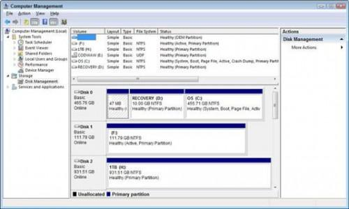 Cómo abrir la consola de administración de discos en un PC con Windows