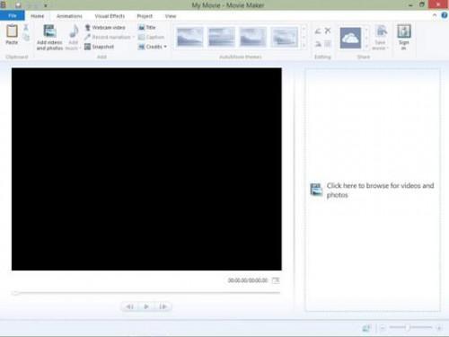 Uso Windows Movie Maker para Videos Digitales