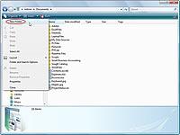Crear una carpeta en Windows Vista