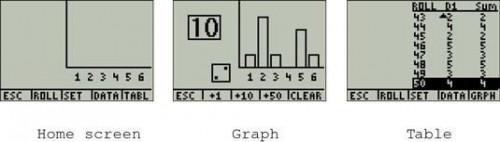 Cómo simular la revista Rolling Dados en la TI-84 Plus
