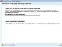 Cómo describir sus operaciones bancarias a Quicken 2012