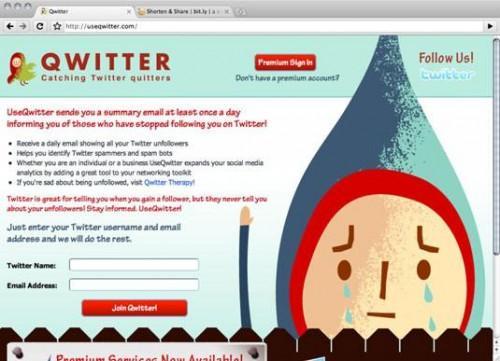 Seguimiento de € s Whoa unfollowed Usted en Twitter a través Qwitter