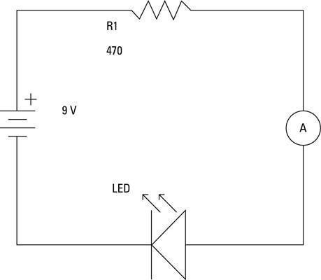 Cómo medir corriente en un circuito electrónico