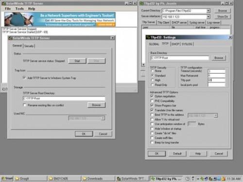 Aspectos básicos de redes: TFTP Instalación y uso