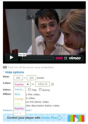 Populares sitios para compartir vídeos