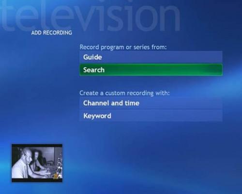 Grabación de programas de TV con PC con Windows XP Media Center