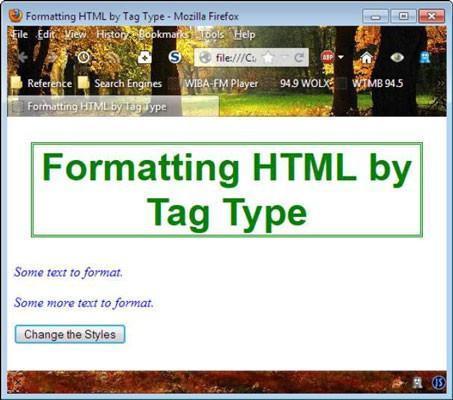 Cómo cambiar los elementos HTML en JavaScript