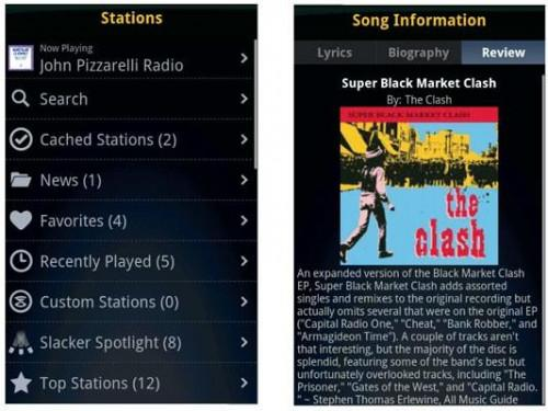 Aplicaciones de música para Android