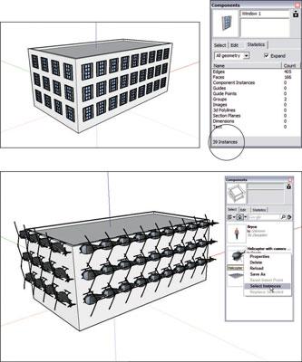 ¿Qué hace que los componentes de SketchUp tan grande?