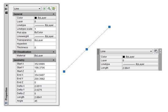 Cómo cambiar propiedades de los objetos en AutoCAD 2014 / Prucommercialre.com