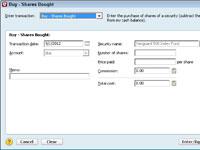 Cómo grabar su inversión inicial en Quicken 2012